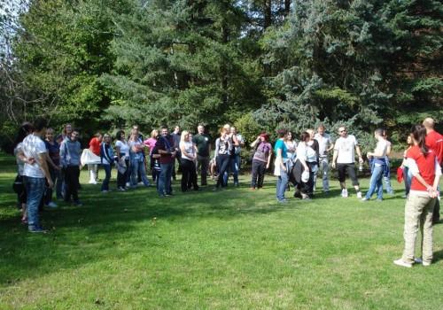 outdoor csapatépítés, eligazítás