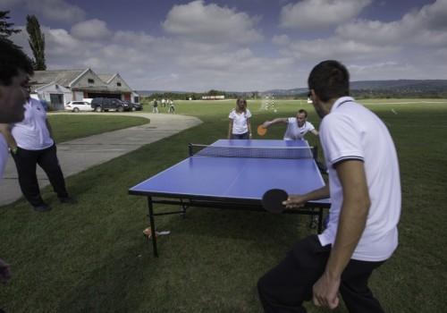 céges sportnap, ping-pong bajnokság