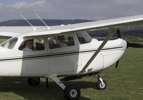 céges sportnap, Cesna repülőgép