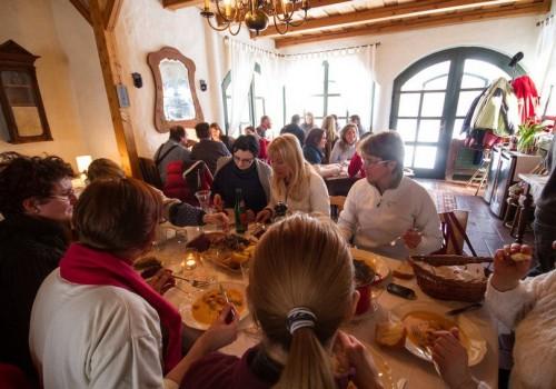 disznótoros ebéd, vidéki rendezvény