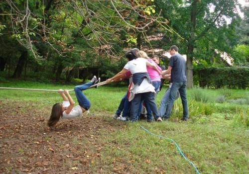 outdoor csapatépítés, Loavsberény