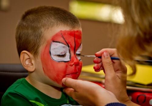 gyerekprogram, arcfestés