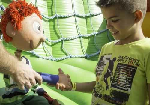 gyermekprogram, interaktív bábozás