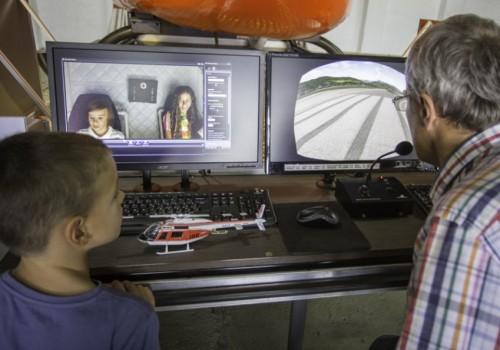 családi nap, helikopter szimulátor
