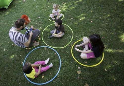 családi nap, játékos gyermektorna