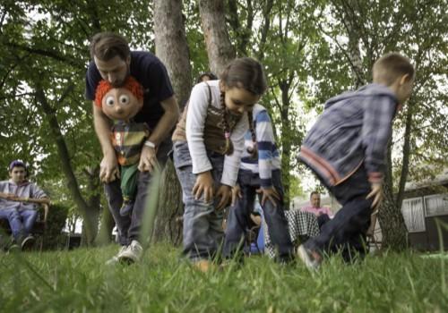 családi nap, játékos gyerekprogram