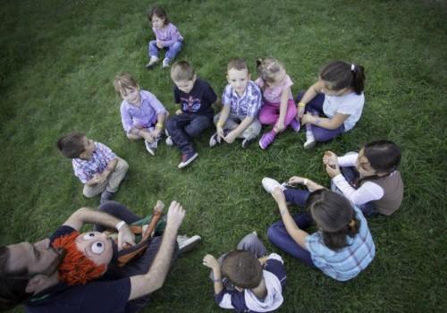 gyermekprogram, Kalimpa a bábok bábja