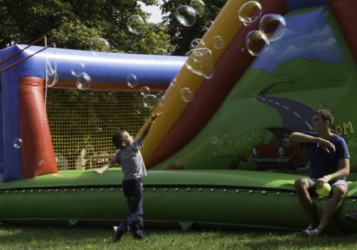 gyermekprogram, buborékfújás