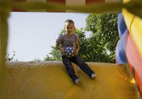gyerekprogram, ugrálóvár