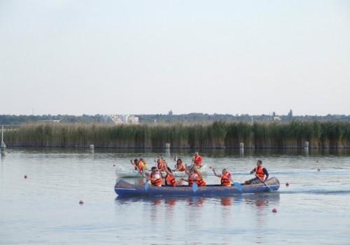 outdoor csapatépítés, kenu program