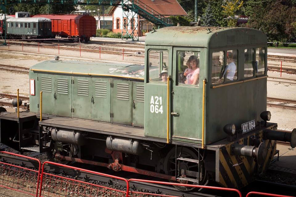 családi nap, mozdonyvezetés