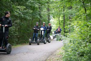 outdoor élményprogram, off road segway túra erdei ösvényeken